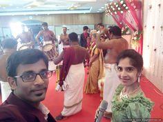 Welcoming the Wedding Anniversary couple with Chenda Melam #event #weddings #anniversary