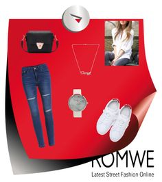 """Romwe II"" by merima-sisic ❤ liked on Polyvore"