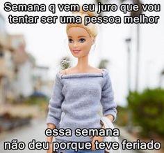 Barbie Funny, Barbie Humor, Little Memes, Funny Memes, Jokes, Memes Status, Comedy Central, Powerful Women, Lol