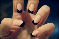 Try some of these designs and give your nails a quick makeover, gallery of unique nail art designs for any season. The best images and creative ideas for your nails. French Manicure Nail Designs, French Nail Art, French Tip Nails, Simple Nail Designs, Nail Manicure, Nail Art Designs, Nail Polish, Manicure Ideas, Easy Nails