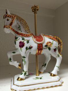 Amazon.com : Royal Dalton Old Country Roses Carosel Horse : Home & Kitchen