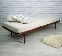 FRANCE & SONS DANISH RETRO VINTAGE MID CENTURY SOFA COUCH DAYBED 1950s 60s | eBay