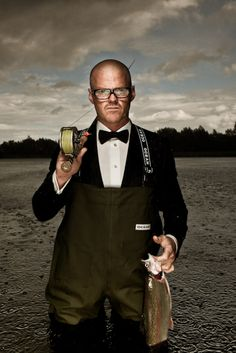 Heston Blumenthal. My favorite chef. He's a genius!