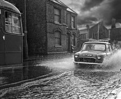 Probably got drowned out! Not exactly waterproof the old minis. At least the water could drain out through the holes in the floor. Never could work out what they were for unless they really were drain holes. Still, a word of advice, never drive through a ford in an old mini!