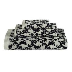 1000 Images About Bathroom On Pinterest Black And White Towels Shower Curtains And Towels