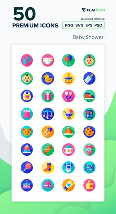 Baby Shower Icon Pack 50 Baby shower icons for personal and commercial use. Watermelon Baby Carriage, Baby Shower Watermelon, Watermelon Birthday Parties, Memorial Day, Baby Shower Fruit Tray, Vector Icons, Vector Free, Baby Loading, Louis Vuitton Necklace