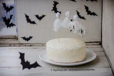 Ванильный Торт на Хэллоуин | vegelicacy.com