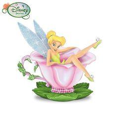 Disney Tinker Bell Tea Rose Delight Teacup Figurine: Tinker Bell Home Decor by The Hamilton Collection by Hamilton, http://www.amazon.com/dp/B00213V6MU/ref=cm_sw_r_pi_dp_qv05pb1K89Y91