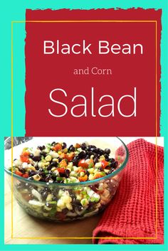 This corn salad from Oregon State's Food Hero Program is a great cold salad to enjoy on a hot summer day.  To use fresh corn, just cut the kernels off of the cob, steam for 3-5 minutes and let them cool before adding them to recipes.