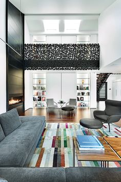 Ιron lace interior living room