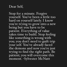 Dear Self, Reminders Dear Self Quotes, Words Quotes, Wise Words, Quotes To Live By, Me Quotes, Motivational Quotes, Inspirational Quotes, Note To Self Quotes, Sayings