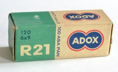 Vintage Expired Adox R21120 Film Unopened Made in by MagsandI