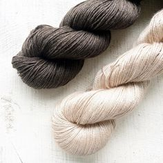I've been planning new yarns for next year. These two just landed on my doormat and wiped away all my plans for the rest of the day. I think I've found my new favourite yarns.