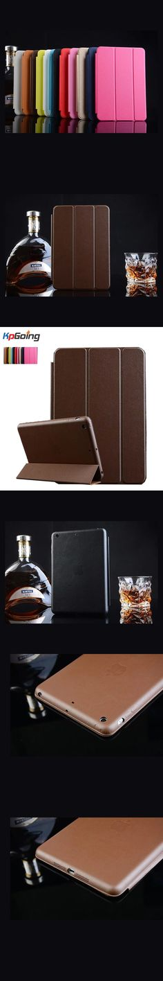 Luxury PU Leather Case for Funda Ipad Air Case with Stand and Card Slot Protective Skin Laptop Bag for IPad Air  Cover
