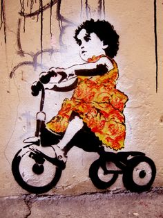 Stinkfish, awesome street artist who uses stencils