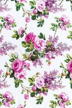 Ramalhete de Rosa Seamless como pano de fundo Imagem