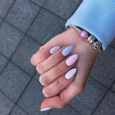 May 2020 - nails short almond ~ nails short & nails short acrylic & nails short gel & nails short coffin & nails short simple & nails short square & nails short almond & nails short spring Cute Acrylic Nails, Acrylic Nail Designs, Cute Nails, Acrylic Nails Almond Matte, Short Almond Nails, Almond Shape Nails, Almond Nails Pink, Summer Nails Almond, Nails Shape