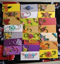 Miniature cards by pinterzsu – Artofit - Quilling Ideas Paper Quilling Earrings, Paper Quilling Cards, Paper Quilling Flowers, Paper Quilling Patterns, Origami And Quilling, Quilled Paper Art, Paper Flowers Craft, Quilling Jewelry, Quilling Paper Craft