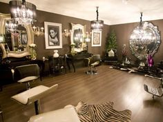Beautiful salon