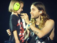 One of my favorite moments! Jared bringing little Ivey up on stage!