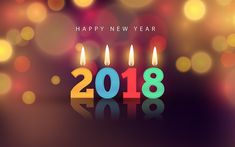 Happy New Year 2018 Ultra HD Wallpaper – 2018 with Candle Light. Happy New Year 2018 Ultra HD Wallpaper – 2018 with Candle Light. Chinese New Year Wallpaper, Happy New Year Wallpaper, Holiday Wallpaper, Hd Wallpaper, Wallpapers, Christmas Photos, Christmas And New Year, Happy New Year Hd, Free Christmas Backgrounds