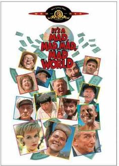 It's a Mad Mad Mad Mad World - starring Milton Berle, Jonathan Winters ...