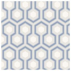 Papier peint Hicks Hexagon   Spaces