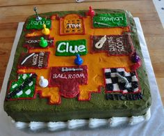 """Birthday Party Ideas: """"Clue"""" game party theme . Feb Birthday Party Ideas: """"Clue"""" game party themeClued. Inspired by the murder mystery game of Themed Birthday Cakes, Birthday Games, 13th Birthday, Birthday Party Themes, Birthday Ideas, Mystery Dinner Party, Mystery Parties, Mystery Games, Dinner Themes"""
