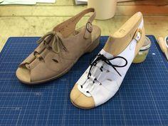 ギリーっぽいバックベルトのサンダル。  #靴作り #サンダル #バックベルト #shoemaking #sandals #backbelt #nikon #d3300