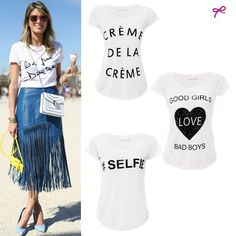helena bordon, fun t-shirt, t-shirt divertida, camiseta, street style, pfw 2014
