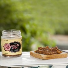 Bacon Jam. This delightfully delicious bottle of bacon jam comes to you with the promise that you will never have enough of it. Order Now! https://www.qtrove.com/collections/preserves/products/bacon-jam