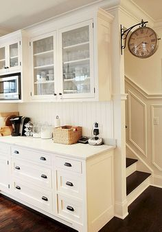 45 Awesome Farmhouse Kitchen Cabinet Ideas