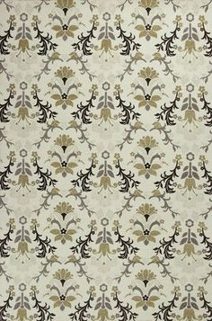 Mulberry Allover Tapestry Area Rug