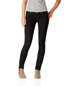 NEW! Bayla Skinny Core Black Wash Jean - Aeropostale $9.99  – Sizes: 000 S,R,L