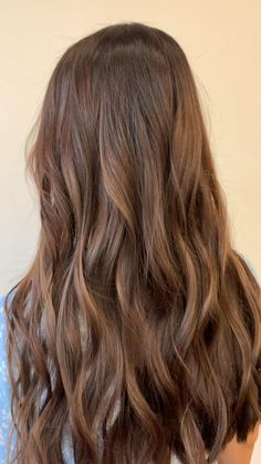 Brown Bridal Hair Ombre Hair Color For Brunettes Bridal brown hair Light Brunette Hair, Brunette Hair Color With Highlights, Long Brunette, Brown Blonde Hair, Hair Highlights, Brunette Color, Color Highlights, Front Hair Styles, Curly Hair Styles