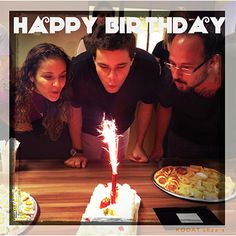 Ontem foi dia de comemoração na WBI Brasil. Parabéns aos aniversariantes Tati, Taylor e Alexandre.