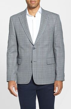Nordstrom Classic Fit Plaid Sport Coat available at #Nordstrom
