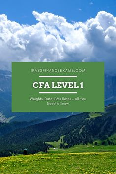 #CFAexam level 1 is the first of 3 to complete your exam experience. Check out all you need to know from pass rates, weights, and more! #CFA #testprep #accounting Exam Study Tips, Exams Tips, Chartered Financial Analyst, Test Prep, Weights, Need To Know, Accounting, How To Become, Dating