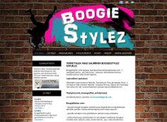 BoogieStylez sai uudet kotisivut Kotisivukoneen Avaimet käteen -palvelun avulla.
