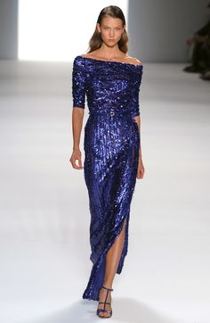 Glam Overload: Elie Saab Does Oh La La Sequin Gowns In Every Color: Dressed: glamour.com