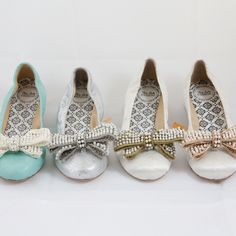 Hey Lady quilted satin bow flats