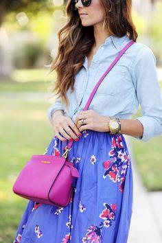 como combinar colores para vestir splash outfit