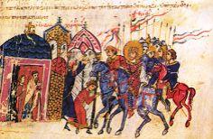 Από τις αρχές του 8ου ως τα μέσα του 9ου αι. το Βυζάντιο συγκλονίστηκε από τη διαμάχη της Εικονομαχίας, πνευματικής κίνησης που συνδέθηκε στενά με το ερώτημα:Είναι σύμφωνη με τις παραδόσεις της Ορθοδοξίας ή όχι η λατρεία των εικόνων;