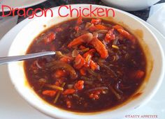 Tasty Appetite: DRAGON CHICKEN / HOW TO MAKE DRAGON CHICKEN / INDO...