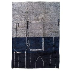 Stock Rugs   Hand Crafted Rugs - Niki Jones Border Rugs, Navy Rug, Ash Grey, Grey Rugs, Hand Knotted Rugs, Taupe, Teal, Crafts, Color