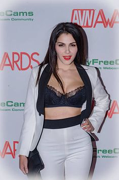 Actress Valentina Nappi Arrives For The 2017 AVN Nomination Party At Avalon  On November 17 2016