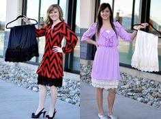Skirt/dress extenders | The Chic Orchid @Tabitha Sprigler