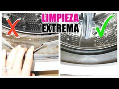 Limpieza de lavadora Extrema Limpieza Natural, Quites, Washing Machine, Home Appliances, Youtube, Daily Cleaning, Cleaning Routines, Hacks, Crystals