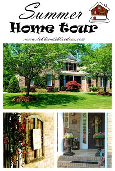 My Summer home tour plus 30 other open house summer tours. Come on in and get some fresh ideas for your home! #bhometour