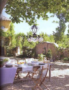 Alfresco ~ Provence